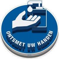 3D-vloermarkering - ONTSMET UW HANDEN