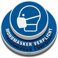 3D-vloermakering - MONDMASKER VERPLICHT
