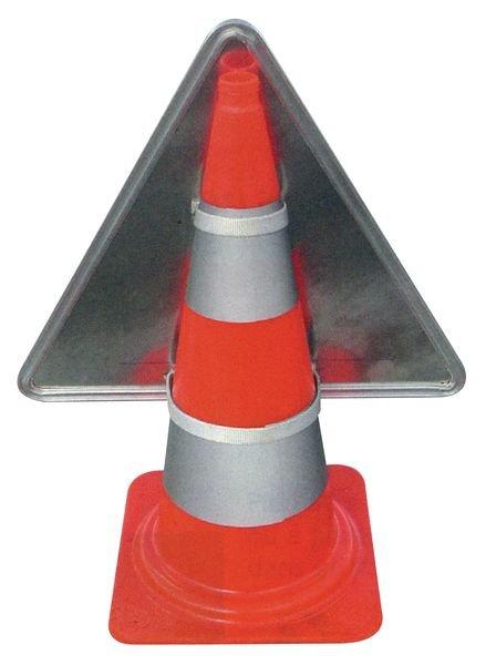 Tijdelijke gevaarsborden voor kegel Ongeluk - Seton