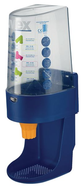 One 2 Click' dispenser voor oordopjes X-fit en Xact-fit