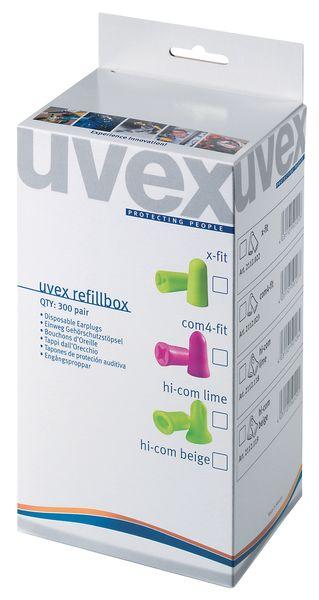 Navulling oordopjes Uvex voor dispenser