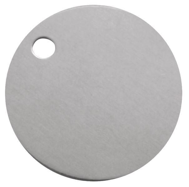Blanco ventielplaatjes van messing, aluminium of inox