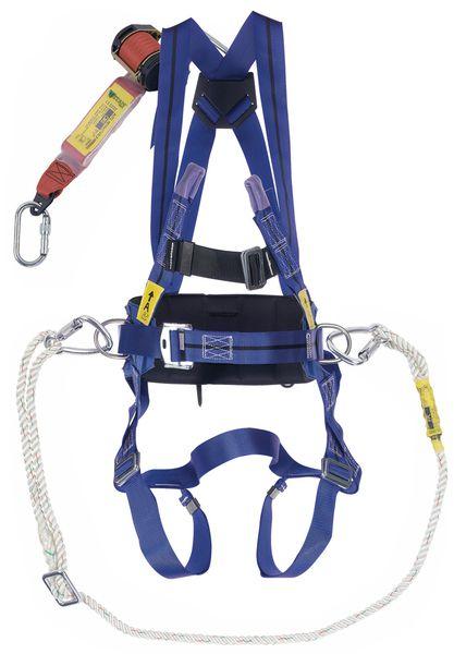 Positioneringsset Miller® met tweepuntsharnas Titan™, positioneringslijn en reddingslijn