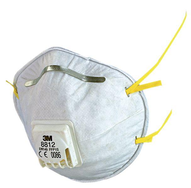 Wegwerp FFP1-stofmasker 3M™ 8710 en 8812, van hoge kwaliteit