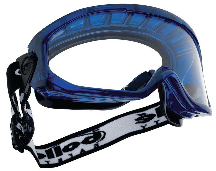 Veiligheidsbril en extra gelaatsscherm Bollé® Blast Cover