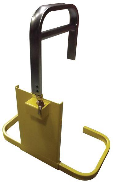 Standaard wielklem met high security slot en 2 sleutels