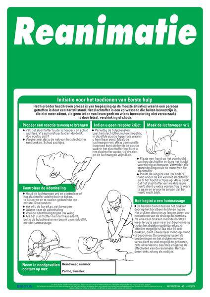 EHBO-posters - Reanimatie