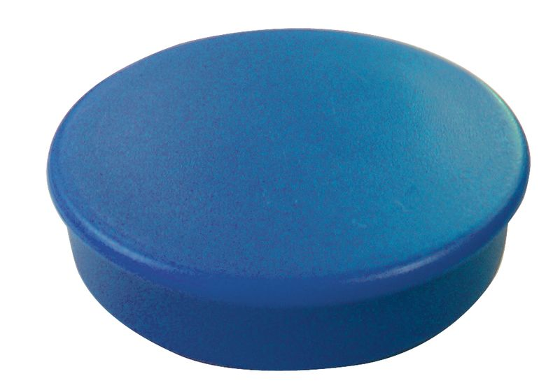 Ronde, gekleurde magneten voor planbord