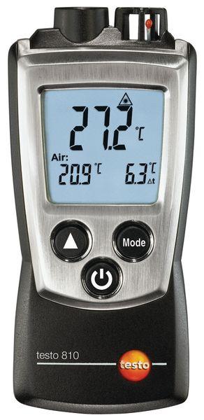 Infrarood omgevings- en oppervlaktethermometer