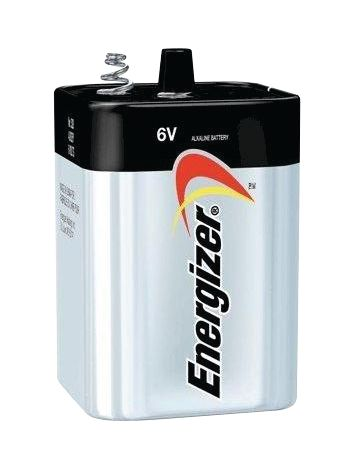 Niet-oplaadbare blokbatterij 6 V