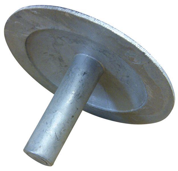 Markeernagels van aluminium om te bevestigen met lijm