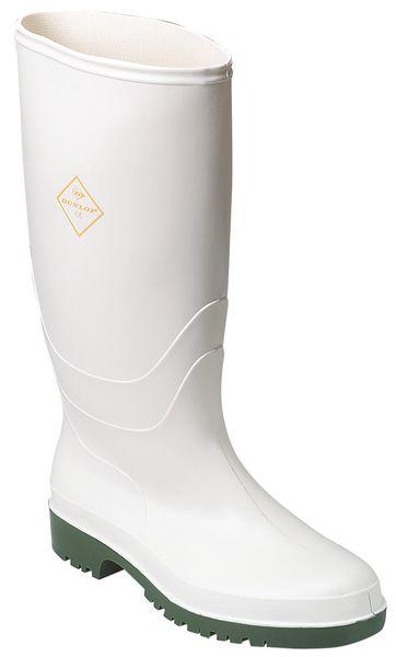 Veiligheidslaarzen van wit PVC, voor voedingssector