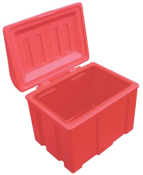 Opslagbak voor zand van polyethyleen
