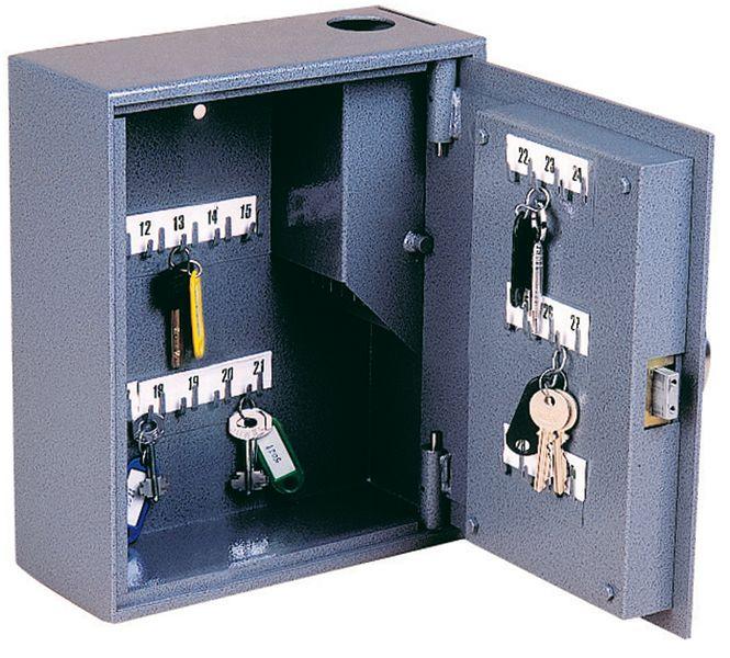 Kluis voor sleutels van staalplaat