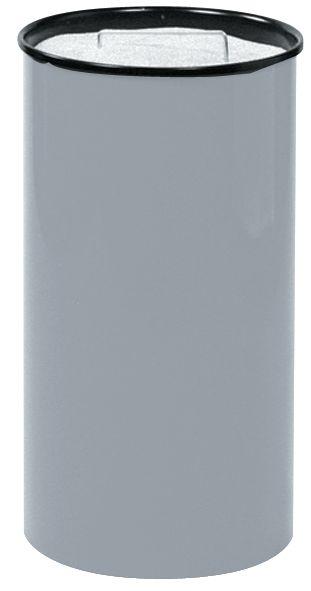 Cilindervormige zandasbak van staal
