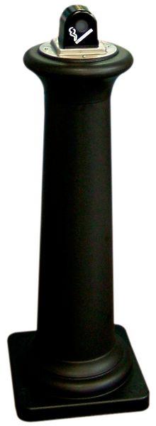 Vlamdovende asbak met capaciteit van 600 peuken