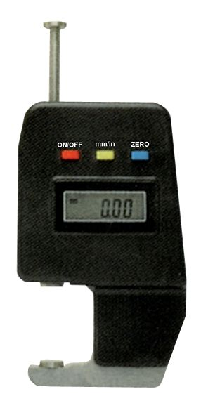 Diktemeter met digitaal scherm