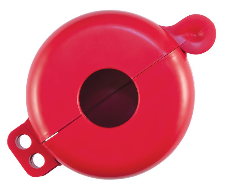 Vergrendelingssysteem voor lockout gasflessen