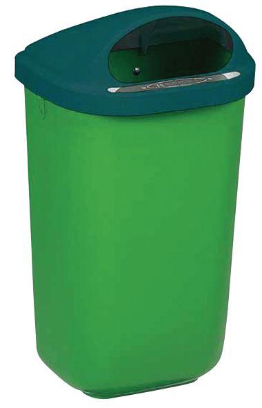 Plastic vuilnisbak voor muurbevestiging
