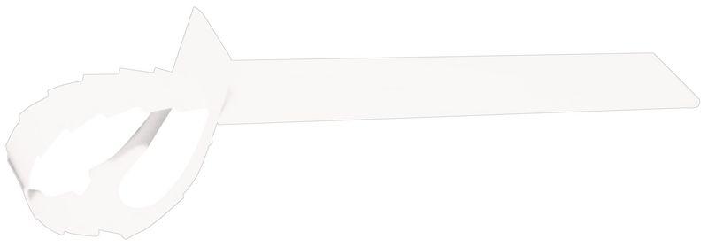 Beschrijfbare, gekleurde hanglabels voor kabels