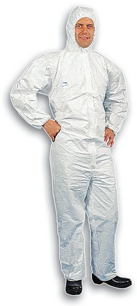 Overall van Tyvek®, speciaal voor de voedingsindustrie