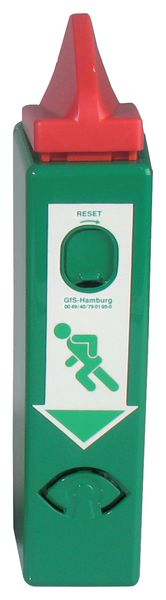 Compact alarm voor deurklink of panieksluiting nooduitgang