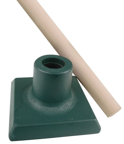 Kit met stamper en houten steel