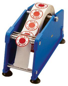 Stickerdispenser met zuignappen