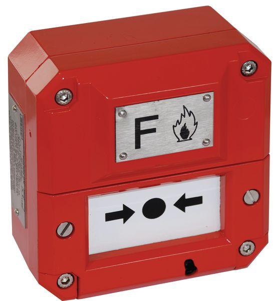 ATEX handbrandmelder voor exposieve omgevingen