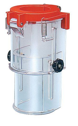 Beschermkap van polycarbonaat voor kolomboormachine