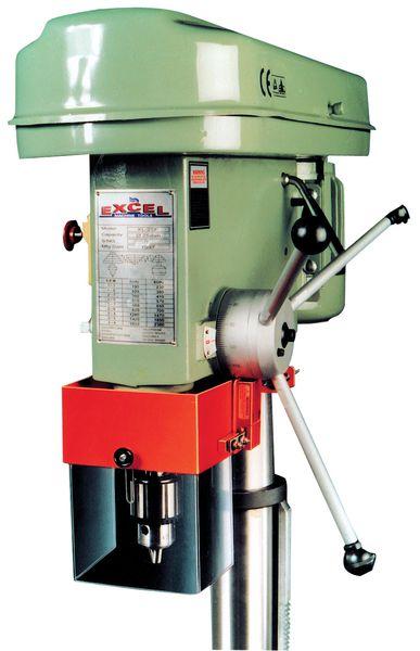Transparante bescherming voor boorkop van kolomboormachine