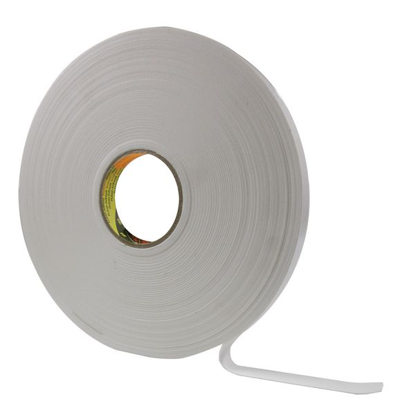 Dubbelzijdige, herpositioneerbare foam tape op rol 3M™