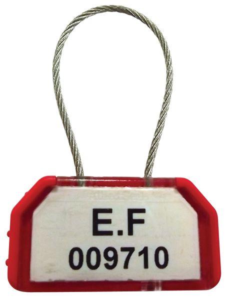 Kabelverzegeling met sluiting en buffer