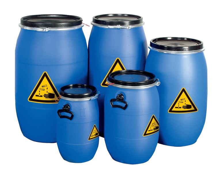 Veiligheidsvaten van polyethyleen