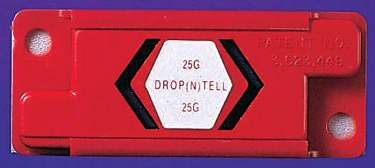 Valindicator 'Drop n tell'  voor pakketten