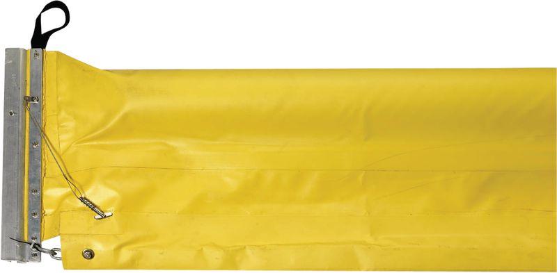 Drijvende barrière voor olie absorptie