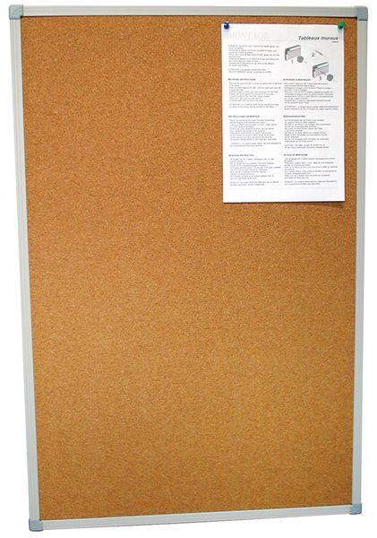 Prikborden met voordelig kader van PVC