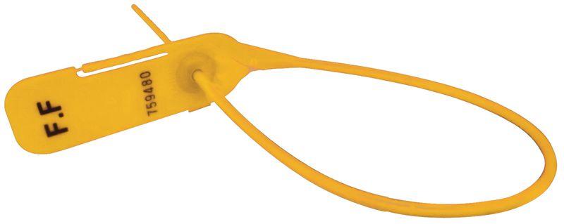 Plastic aantrekverzegelingen met lange staart