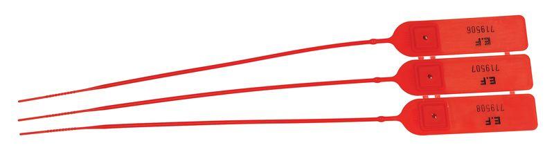 Plastic aantrekverzegelingen met korte staart