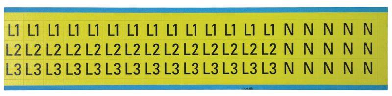 Stickers met pictogrammen voor aarding en stroom