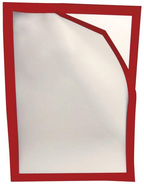 Affichehouders met magnetisch, gekleurd kader