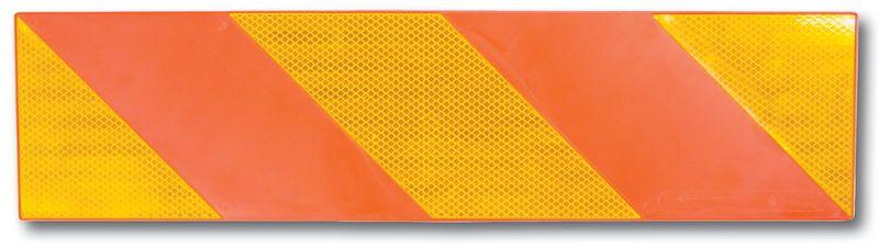 Oranje signalisatieplaat voor achterkant vrachtwagens