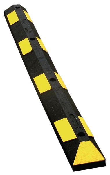 Retroreflecterende parkeerstops van gerecycled rubber