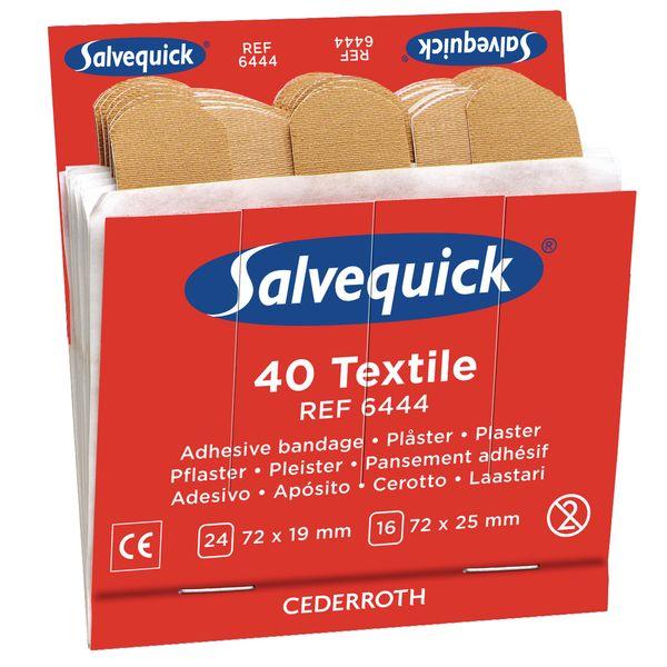Navulling Salvequick® pleisters van textiel