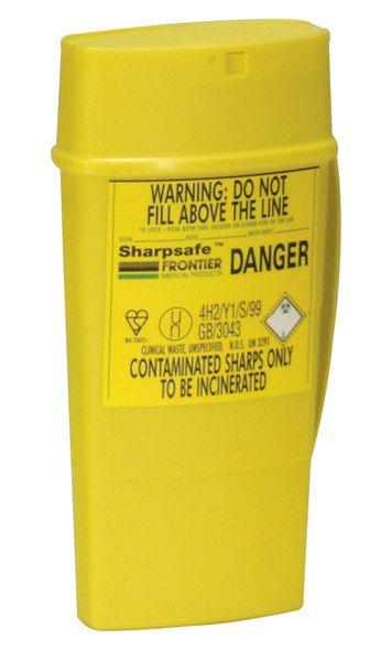 Container voor scherp medisch afval