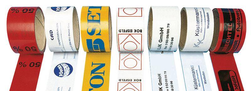 Personaliseerbare verpakkingstape van PVC