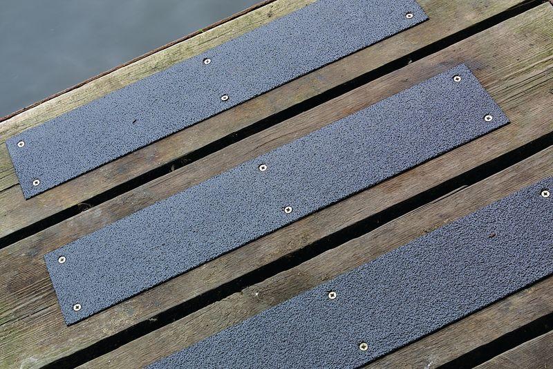 Antislip plaat van roestvrij staal