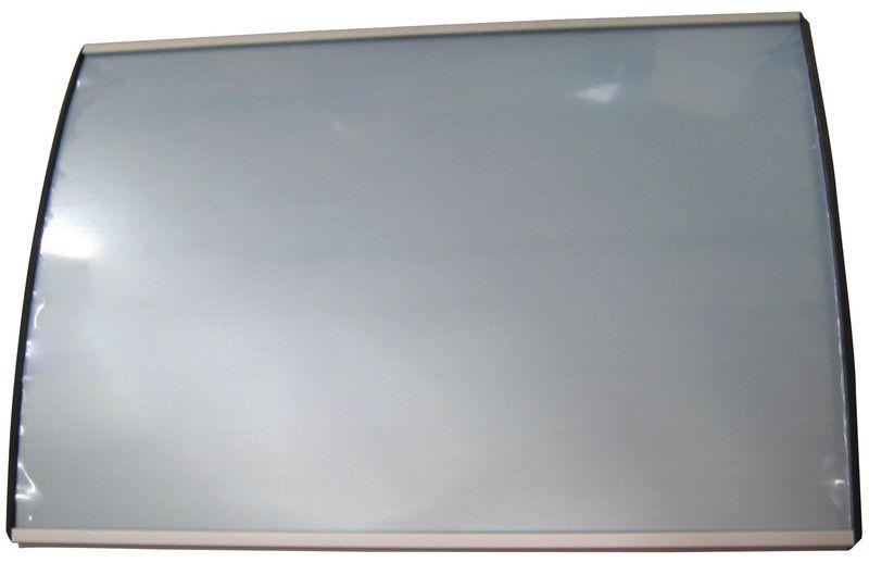 Platte of bolle deurborden van aluminium, klassiek model