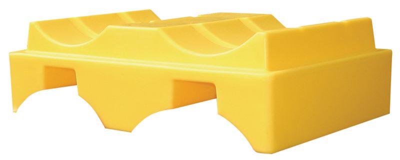 Lekbak en houder van polyethyleen voor vaten