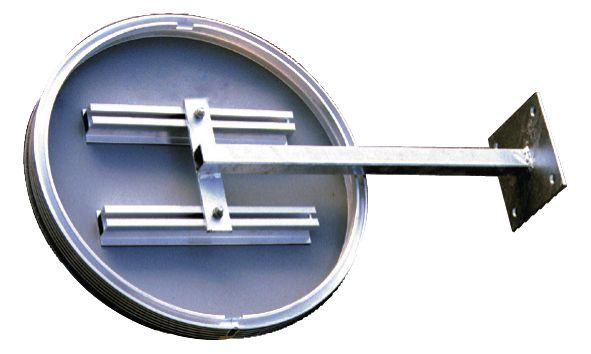 Kit bevestigingsrails -en arm voor muurbevestiging borden